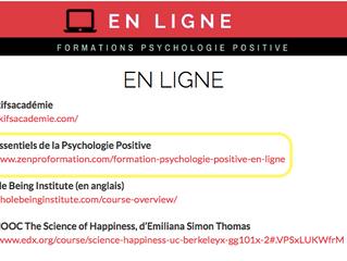 Se former à la psychologie positive