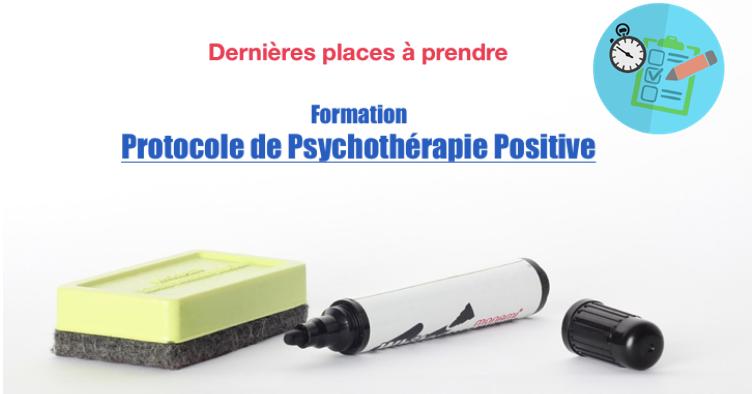 Formation Protocole Psychothérapie Positive