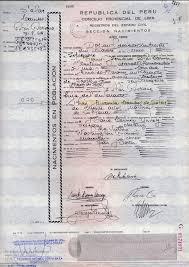Dispensa Partida de Nacimiento - Abogadas Peru