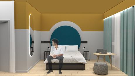 Mercure Bologne chambre - 2020