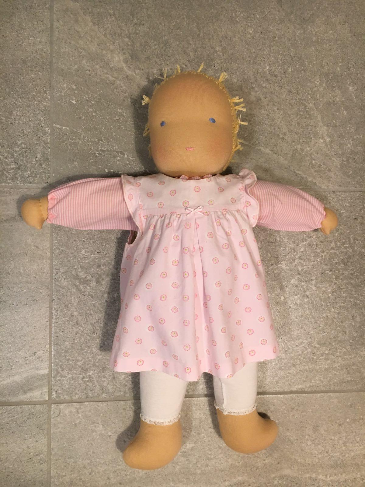 Puppe nachher