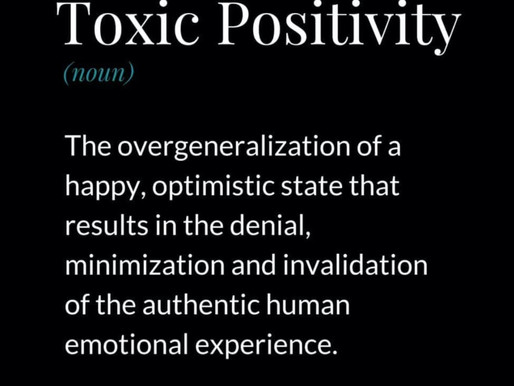 """Toxic Positivity - Rejecting """"Positive Vibes"""""""