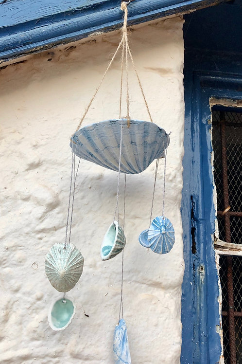 Pottery Shell Mobile Hanging