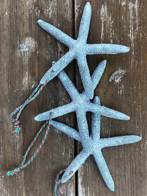 Set of Three Resin Starfish