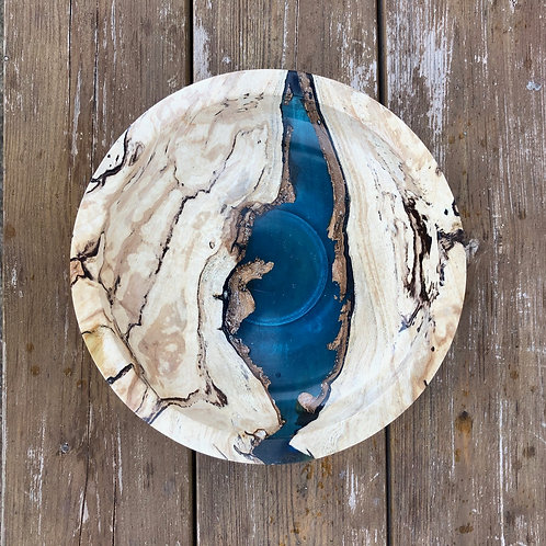 Spalted Wood River Bowl