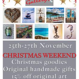 Christmas Weekend Sale!  25th-27th November
