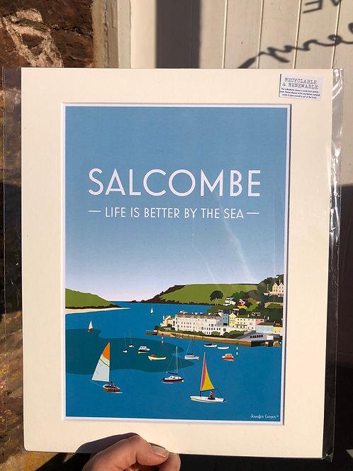 Salcombe Print