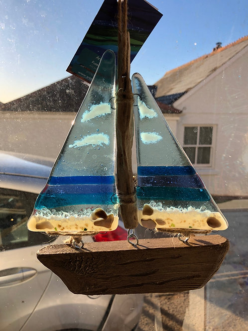 Glass and Wood Boats