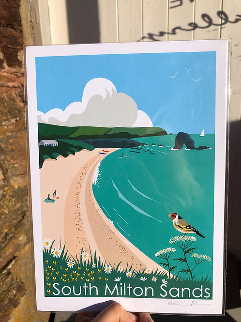South Milton Sands Print
