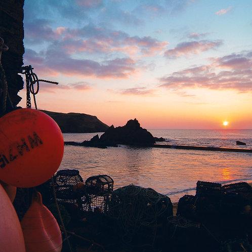 Harbour Beach Fisherman's sunset