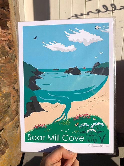 Soar Mill Cove Print