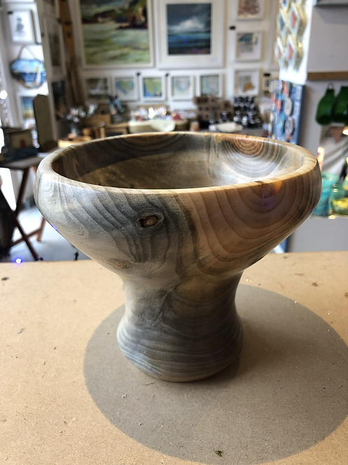 Wooden chalice