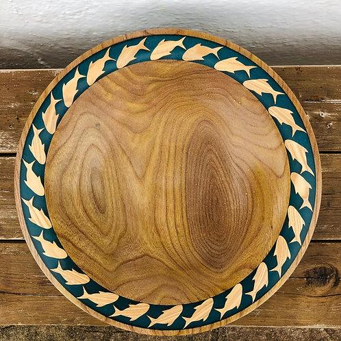 Elm Wooden Bowl
