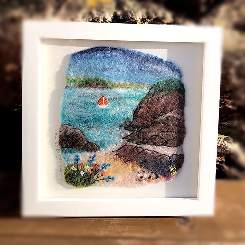 Felted Hope Cove to Burgh Island picture