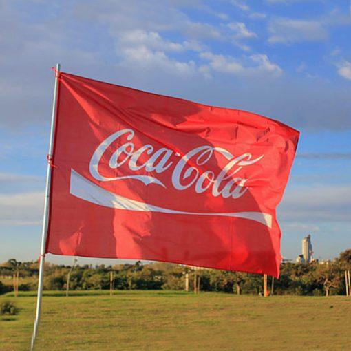 bandera cocacola