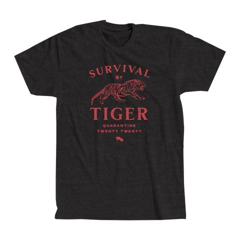 """SURVIVAL BY TIGER"" TSHIRT"