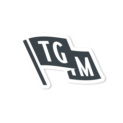 "TGIM ""FLAG"" STICKER - $2.50"