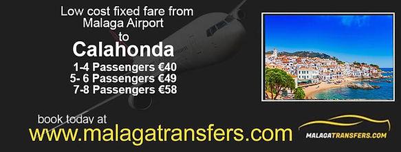 link to malaga transfers taxi service
