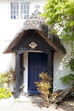 Little Thatch front entrance porch