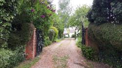 Burgate Farmhouse entrance gates