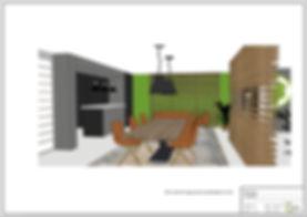 Visualisatie interieurplan Blackspade Leusden