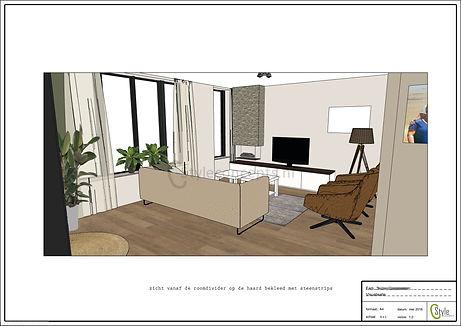 Visualisatie - interieuradvies Voorthuizen