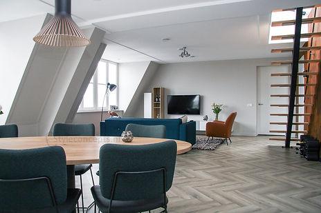 Interieurontwerp Bunscoten-Spakenburg stalen trap - C-Style Concepts