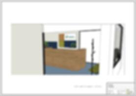 Visualisatie interieurontwerp Geldloket Amersfoort