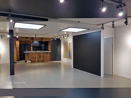 Voor situatie showroom Blackspade Leusden
