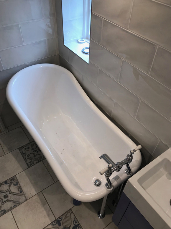 A bath to suit any size of bathroom