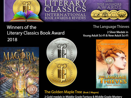 Four medals for two books