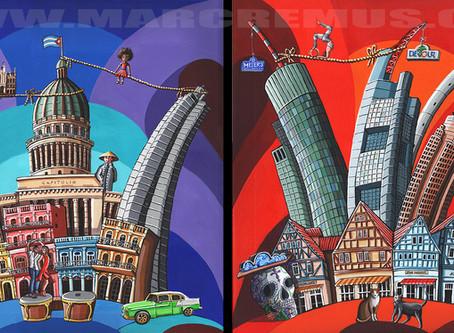 Cuba/Germany painting