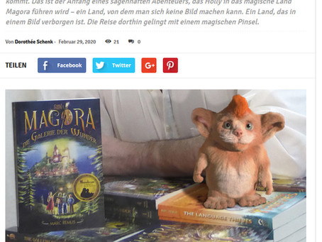Win a signed copy of Magora in German