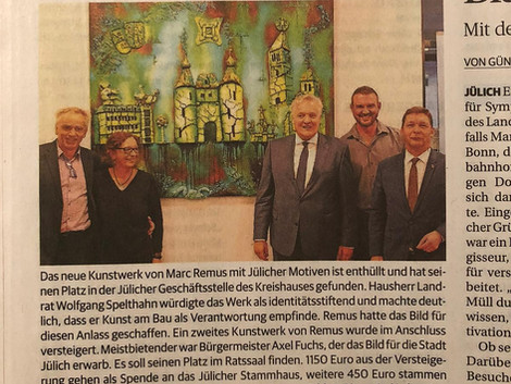 German newspaper publishes article