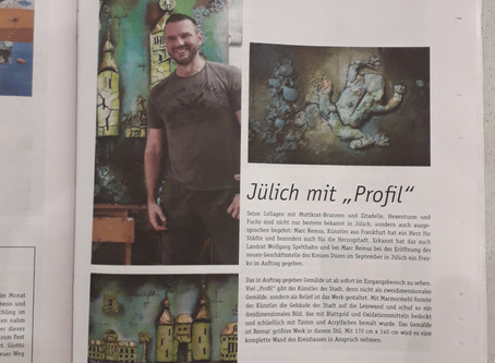Herzog Magazine full-page publication
