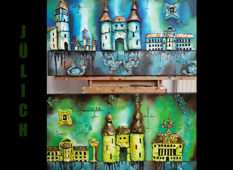 Two new paintings of Jülich