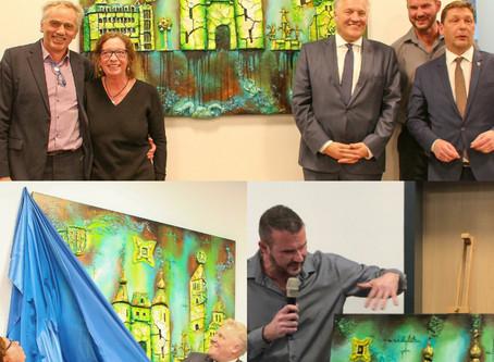 County of Düren reveals painting