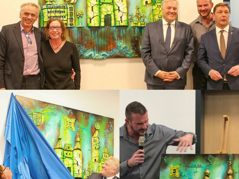 County of Düren reveals painting