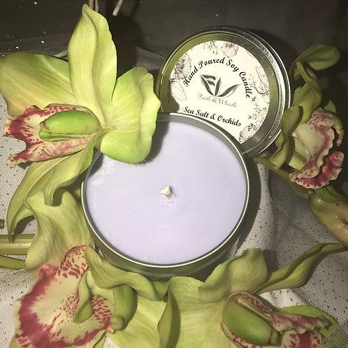 Sea Salt & Orchids Soy Candle