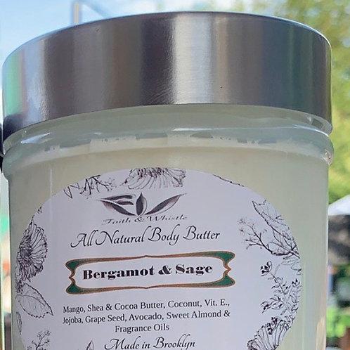 Bergamot & Sage Body Butter