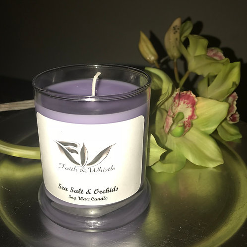 Sea Salt & Orchids  Soy Candle