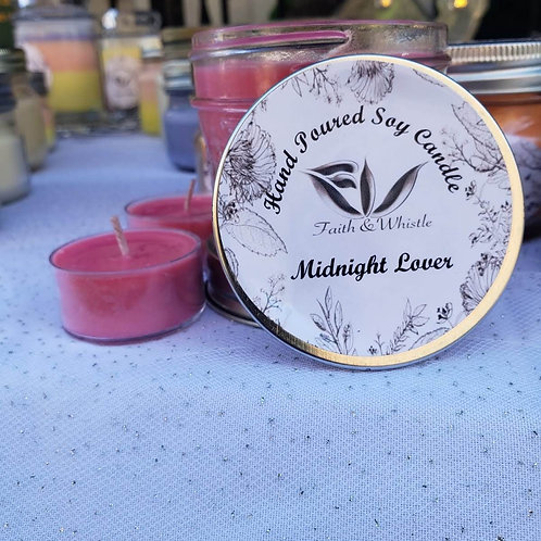 Midnight Lover Soy Candle