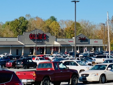 Ollie's Bargain Outlet opens in the Mimosa Hills Shopping Center in Morganton, NC