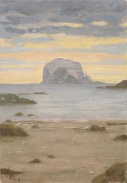 Morning on Bass Rock, Scotland