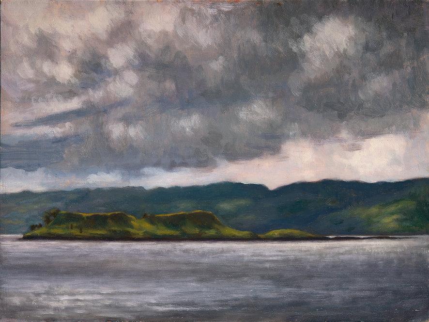 Fleating Ray of Sun on Eilean Coltair,Ki