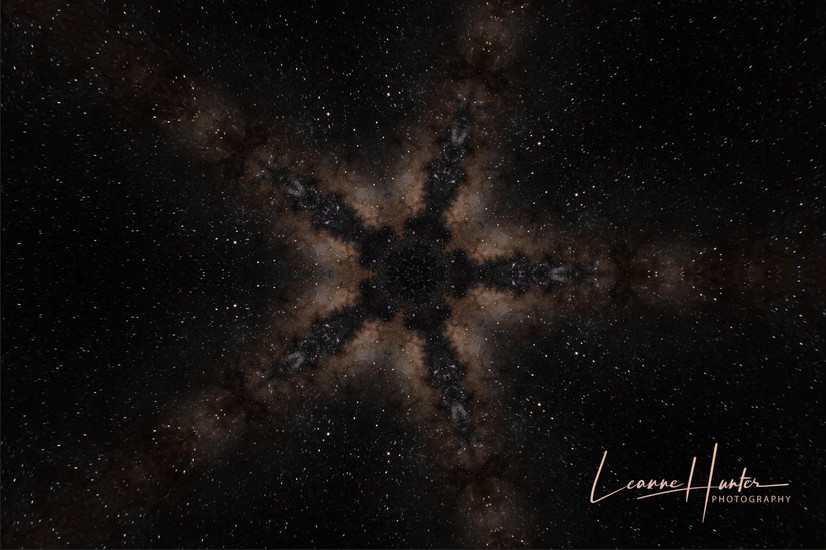 Shooting Star Abstract