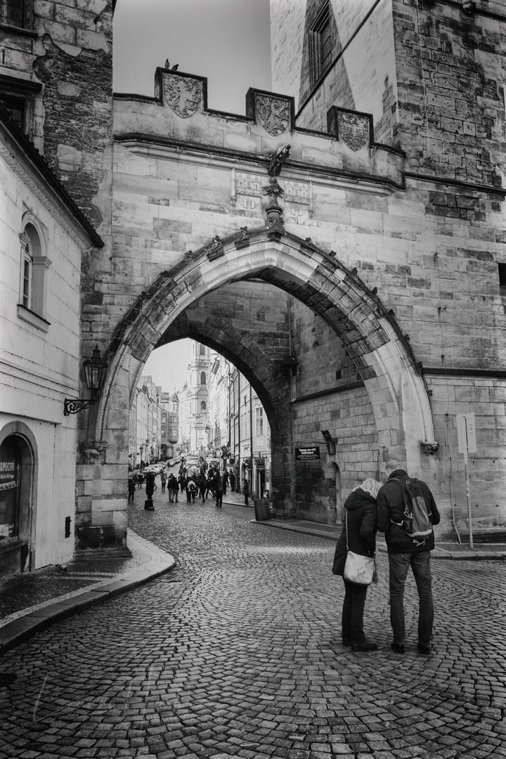 Prague Tourists