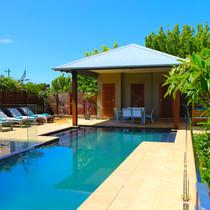 Beautiful pool and pavilion