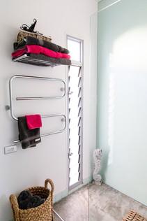 The bathroom in the Studio