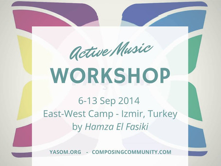 'Decomposing Audience' (ALP Inspired workshop) with ALP Conductor Hamza El Fasiki